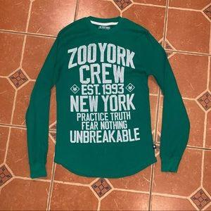ZOO YORK Waffle Shirt